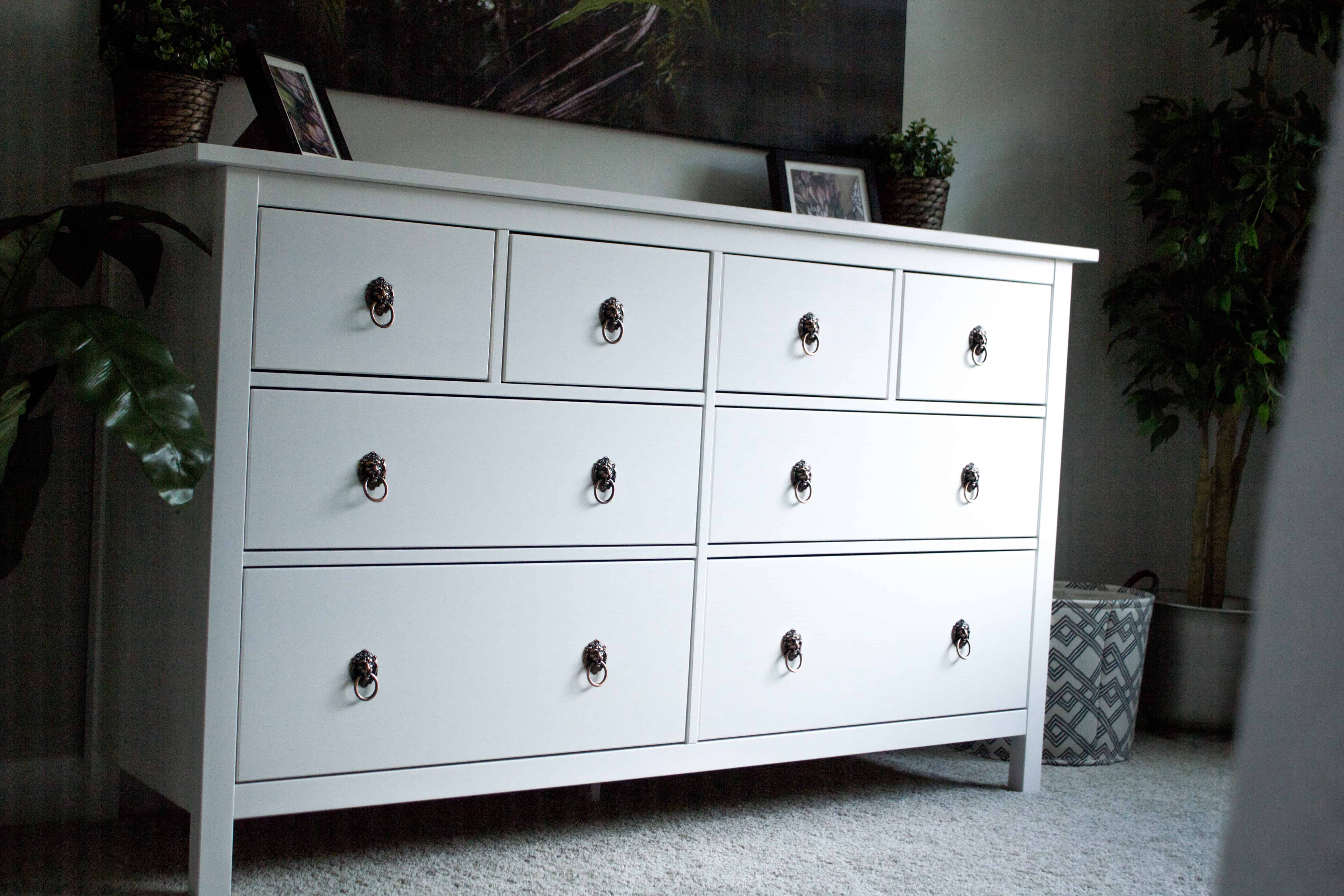 Ikea Hemnes Dresser Hack Practical And Pretty