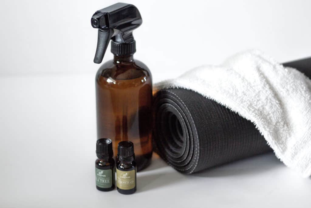 Diy Yoga Mat Cleaner Practical And Pretty