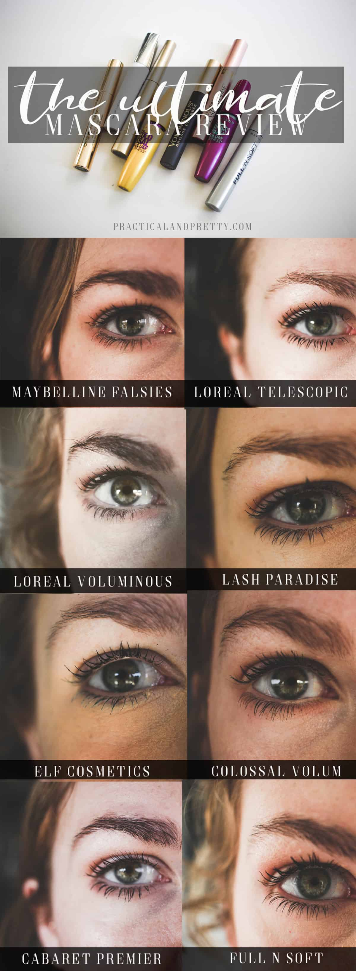 I went through and compared everyone's favorite drugstore mascaras. Let's find your dream mascara together