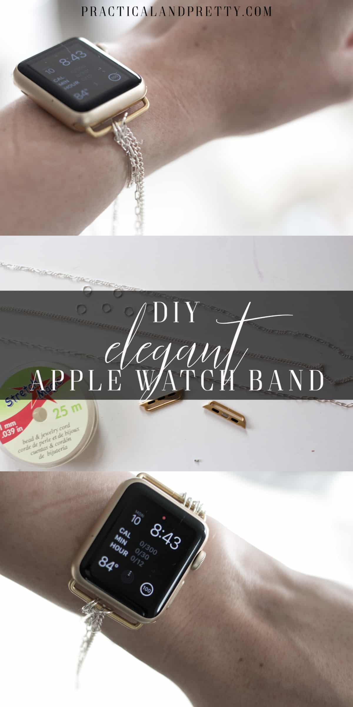 DIY Apple Watch Band - Practical and Pretty