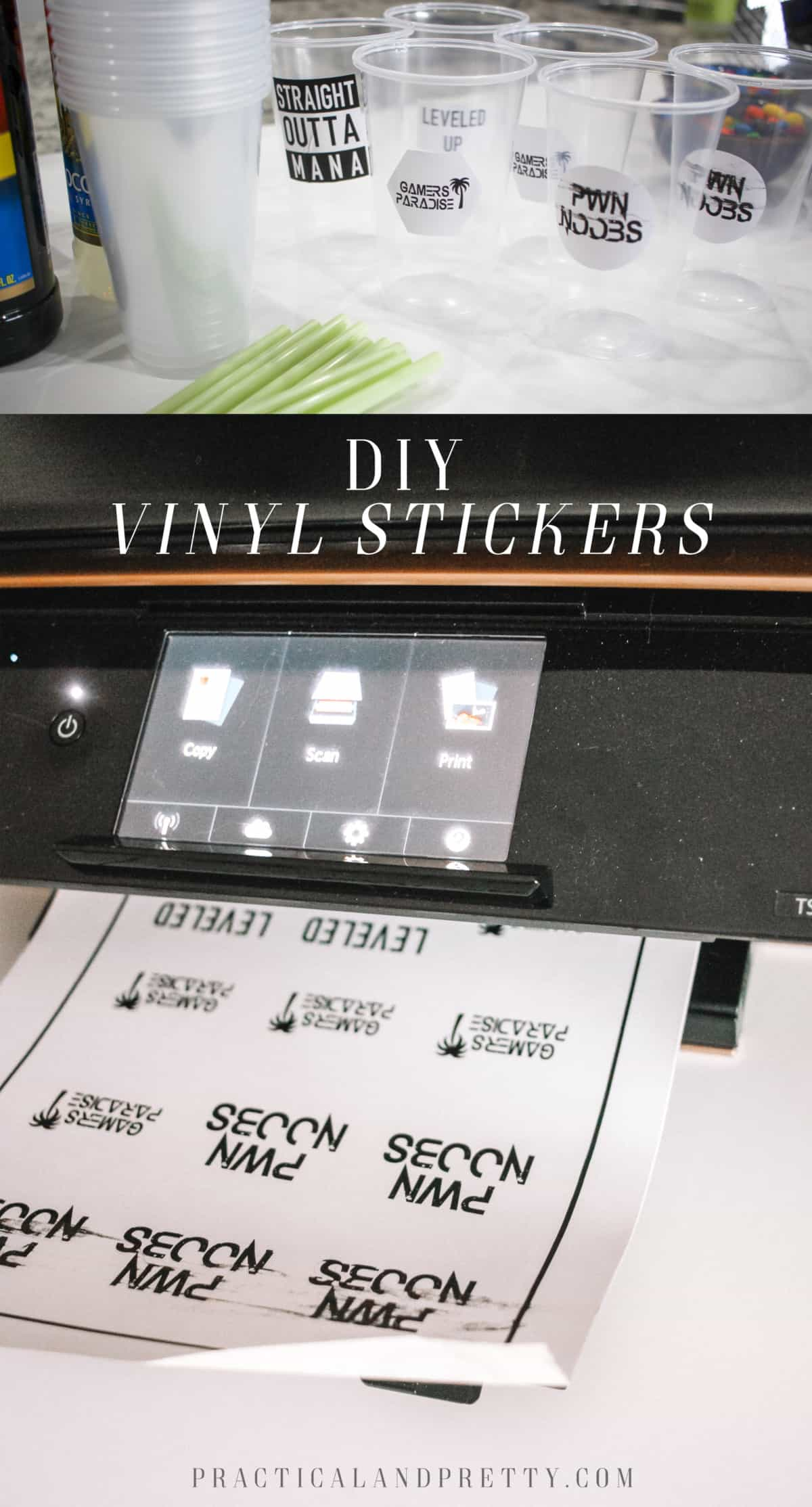 Making custom stickers is really simple with printable vinyl and ill walk you through