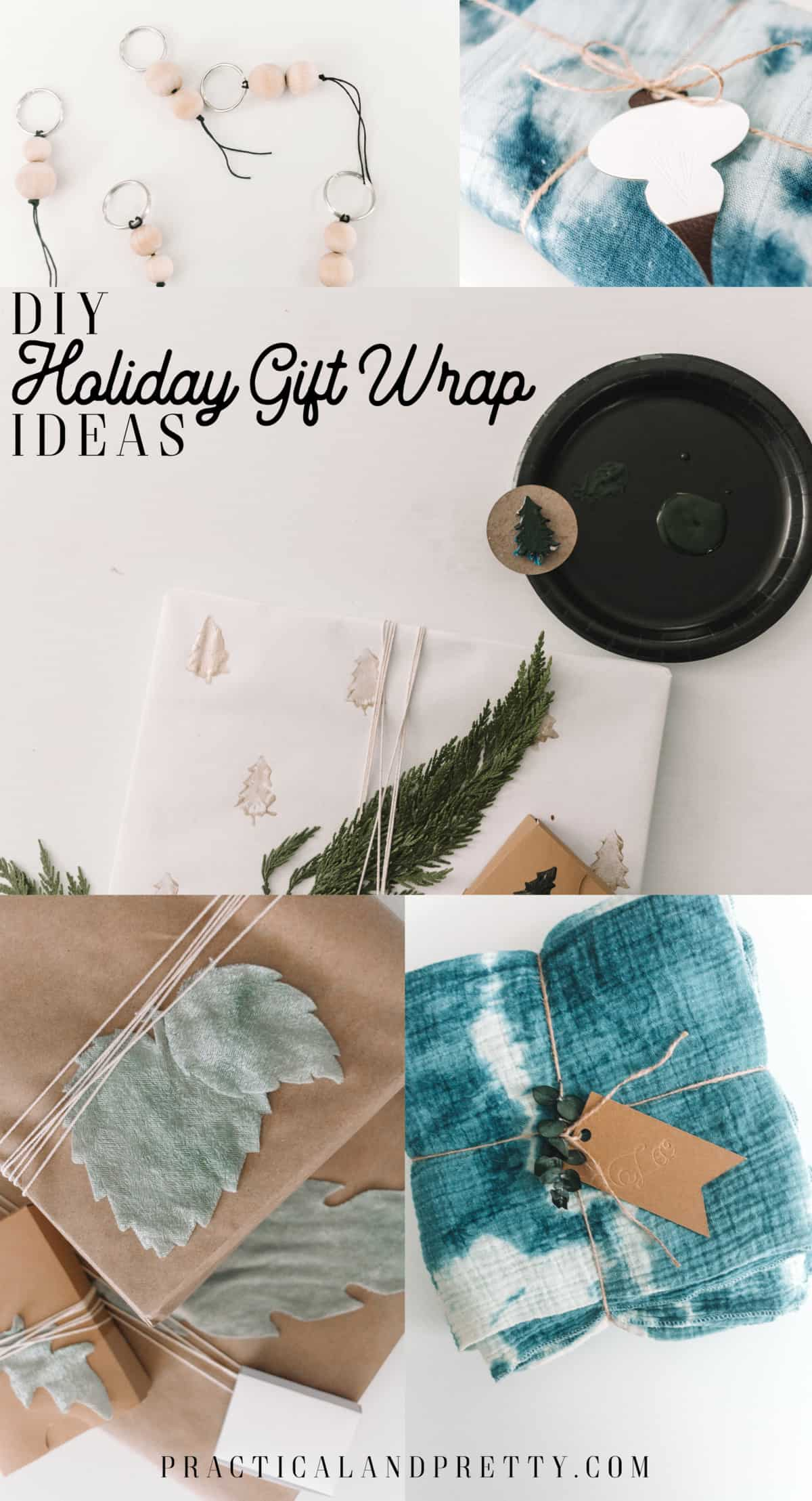 Handmade Holiday Gift Wrapping Ideas Practical And Pretty